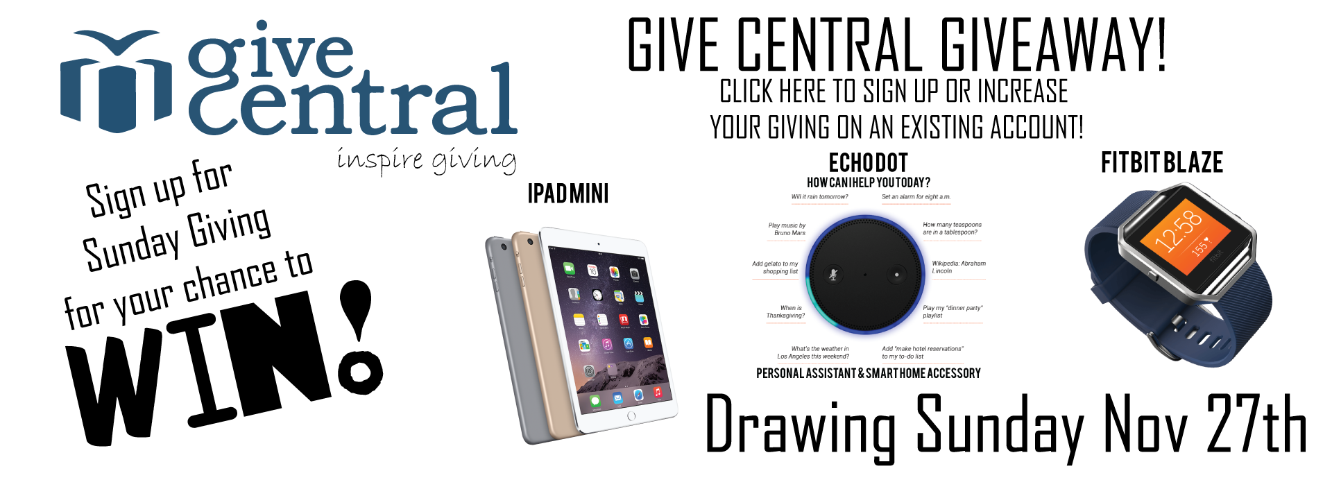 Give Central Give Away