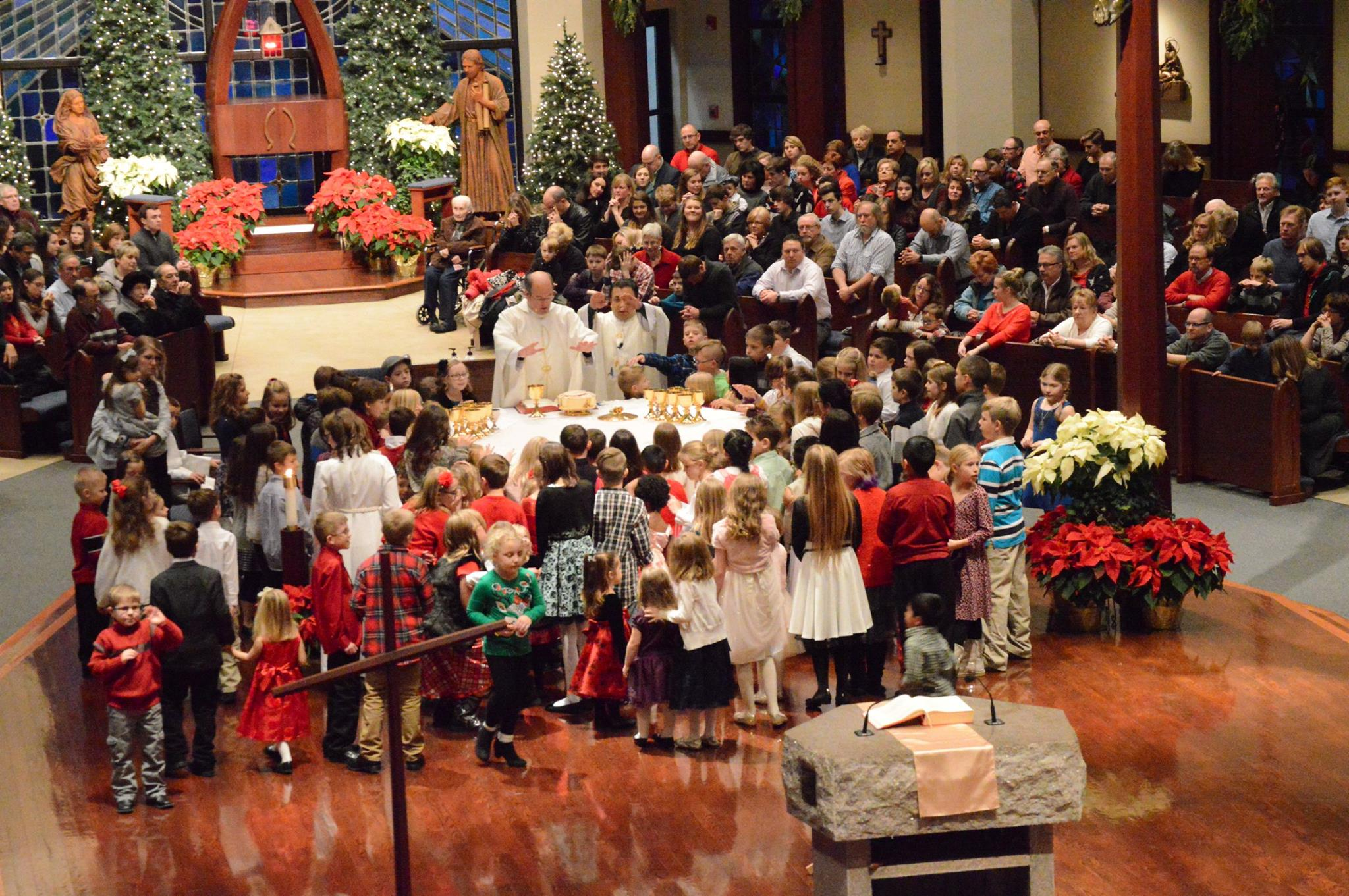 Children's Mass The Church of Holy Apostles